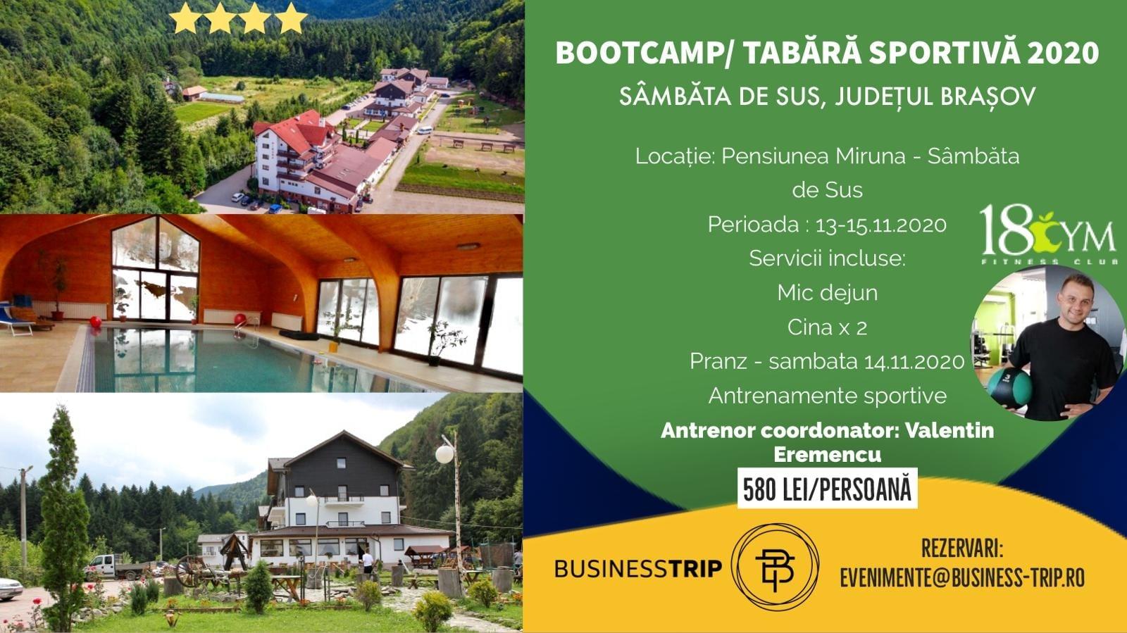 Bootcamp/Tabara sportiva la Sâmbăta de Sus, Brasov
